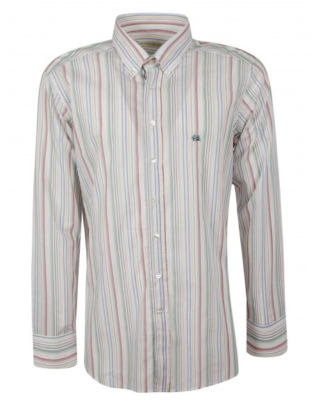 Ragazzi Di Strada Hemd Made in Italy Herren Casual Hemd Kariert Bügelleicht