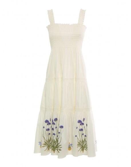 SMOCKED DRESS 82090